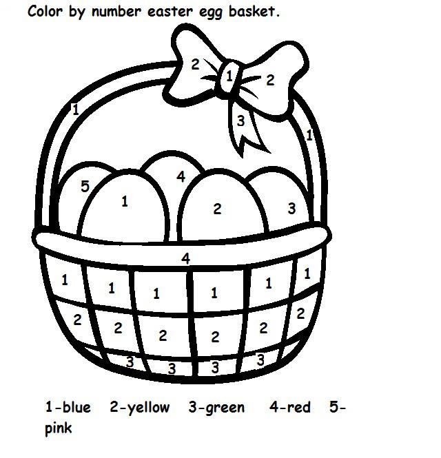Easter-Basket-Color-by-Number